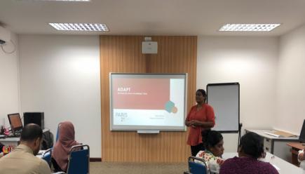 Maldives – Training workshop on Advanced Data Planning Tool